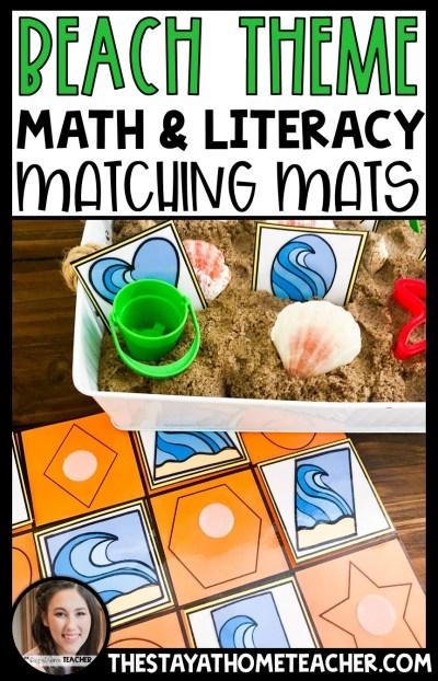 beach matching mats