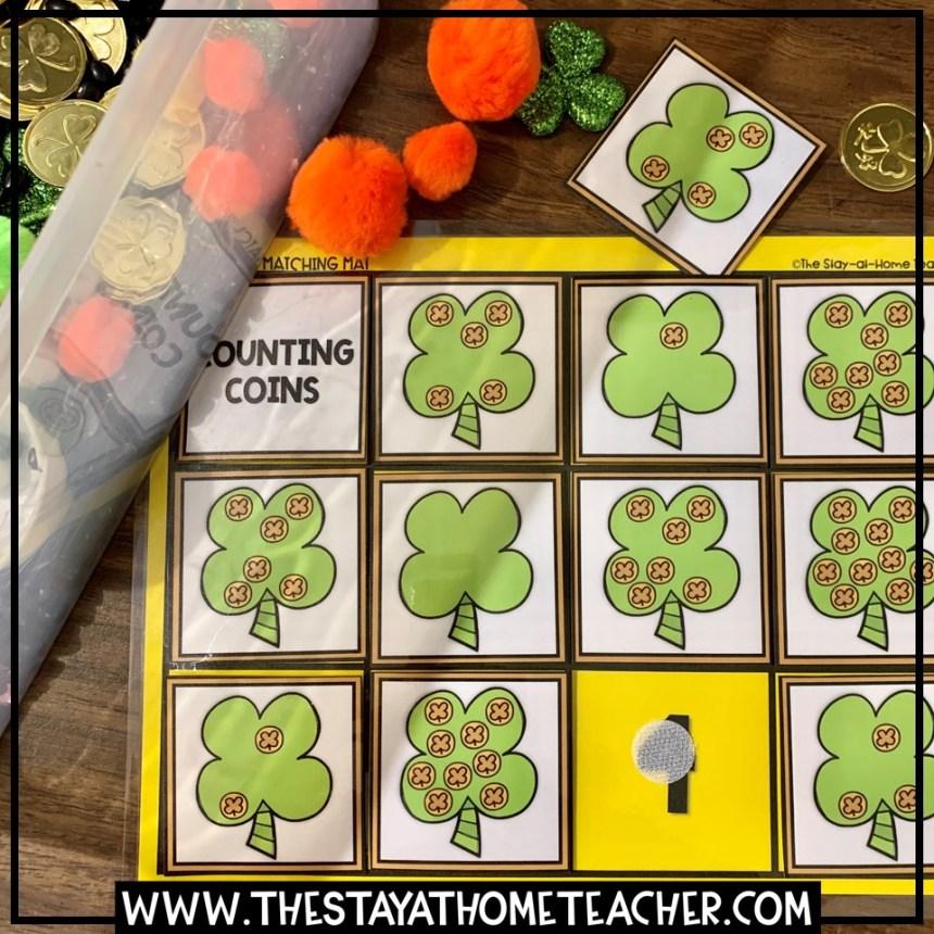 St. Patrick's Day matching mats