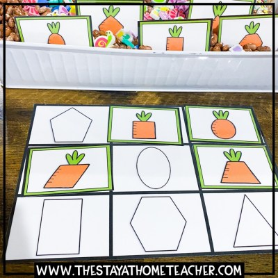 carrot shapes matching