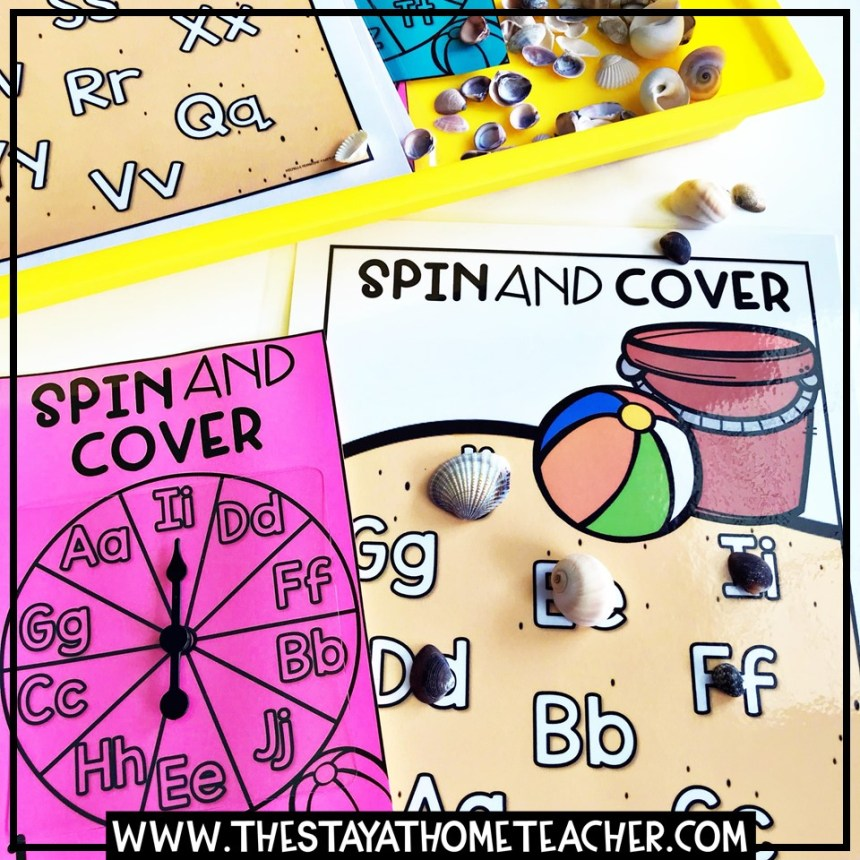 letter spin and cover