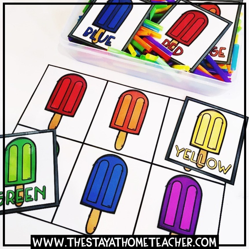 popsicle color matching