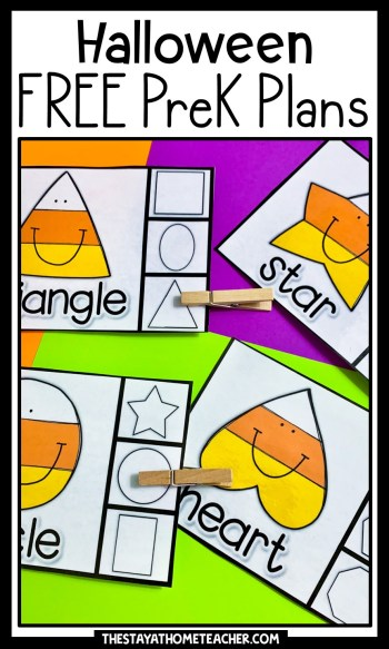 halloween preschool plans pin