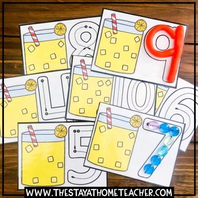 beach lemonade counting cards