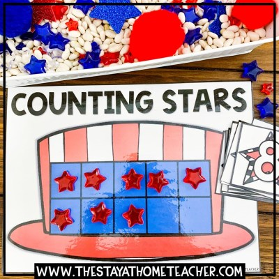 4th of july star 10 Frame
