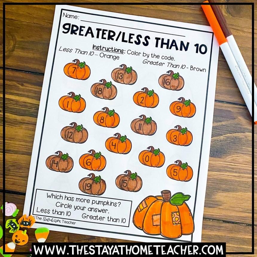 halloween kindergarten