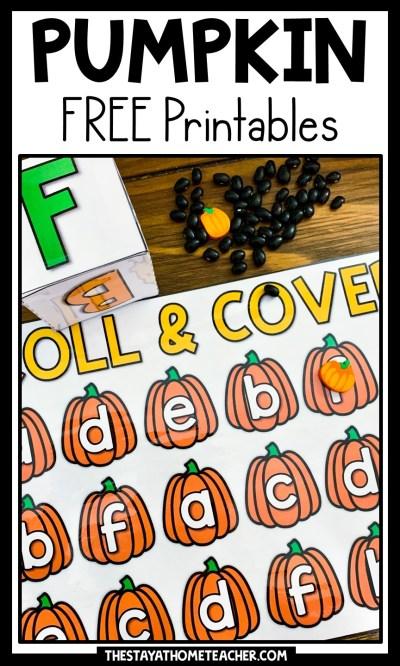 free pumpkin printables