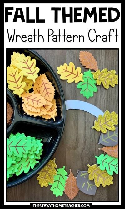 fall wreath craft