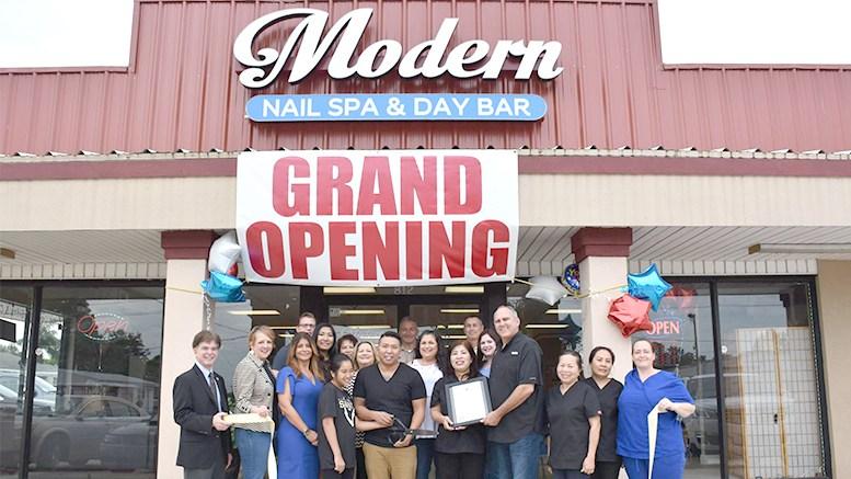 Modern Nail Spa And Day Bar Moves To A Bigger Location