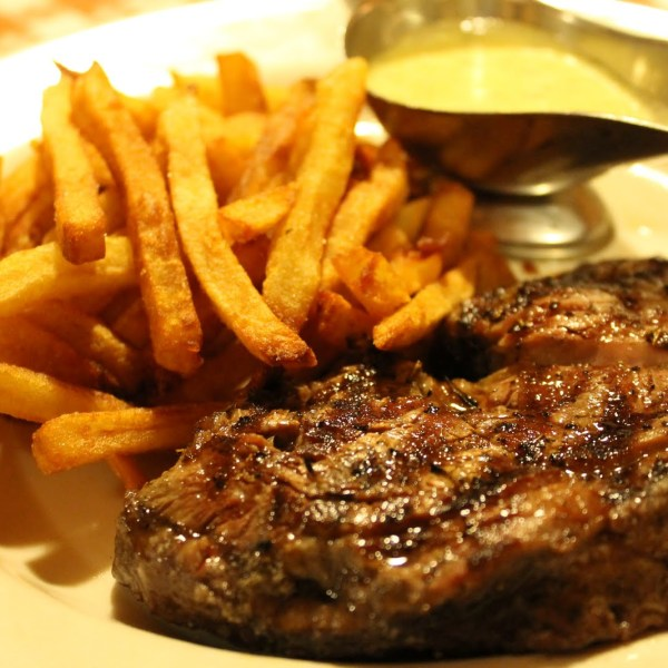 Eight-Ounce Ribeye with Steakhouse Fries*