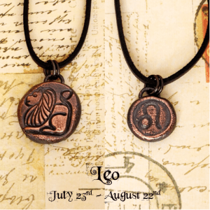 Zodiac and Horoscope Charm Necklace - Leo