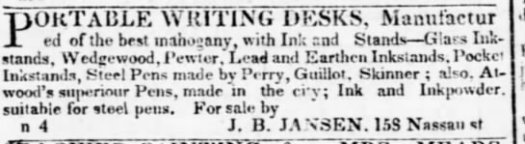1836 Atwood pens made in city