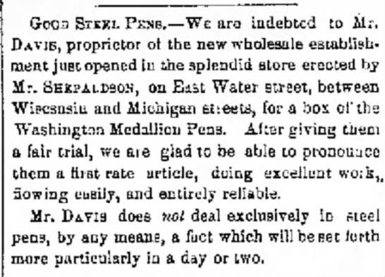 1857 Milwaukee