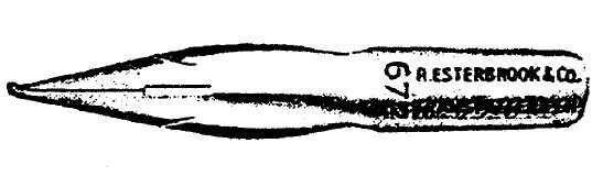 ESTERBROOK 672 TRANSMITTER PEN 1941 image