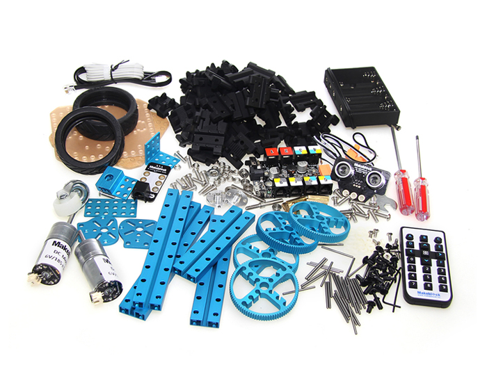 robot kit not assembled