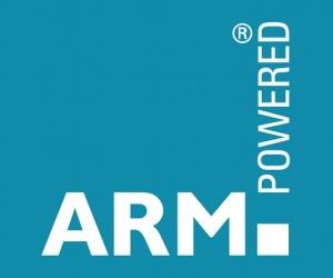 ARM powered logo