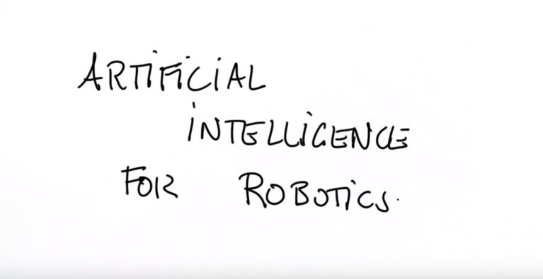 title to intro video - artificial intelligence for robotics