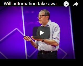 David Autor TED talk - will automation take all our jobs