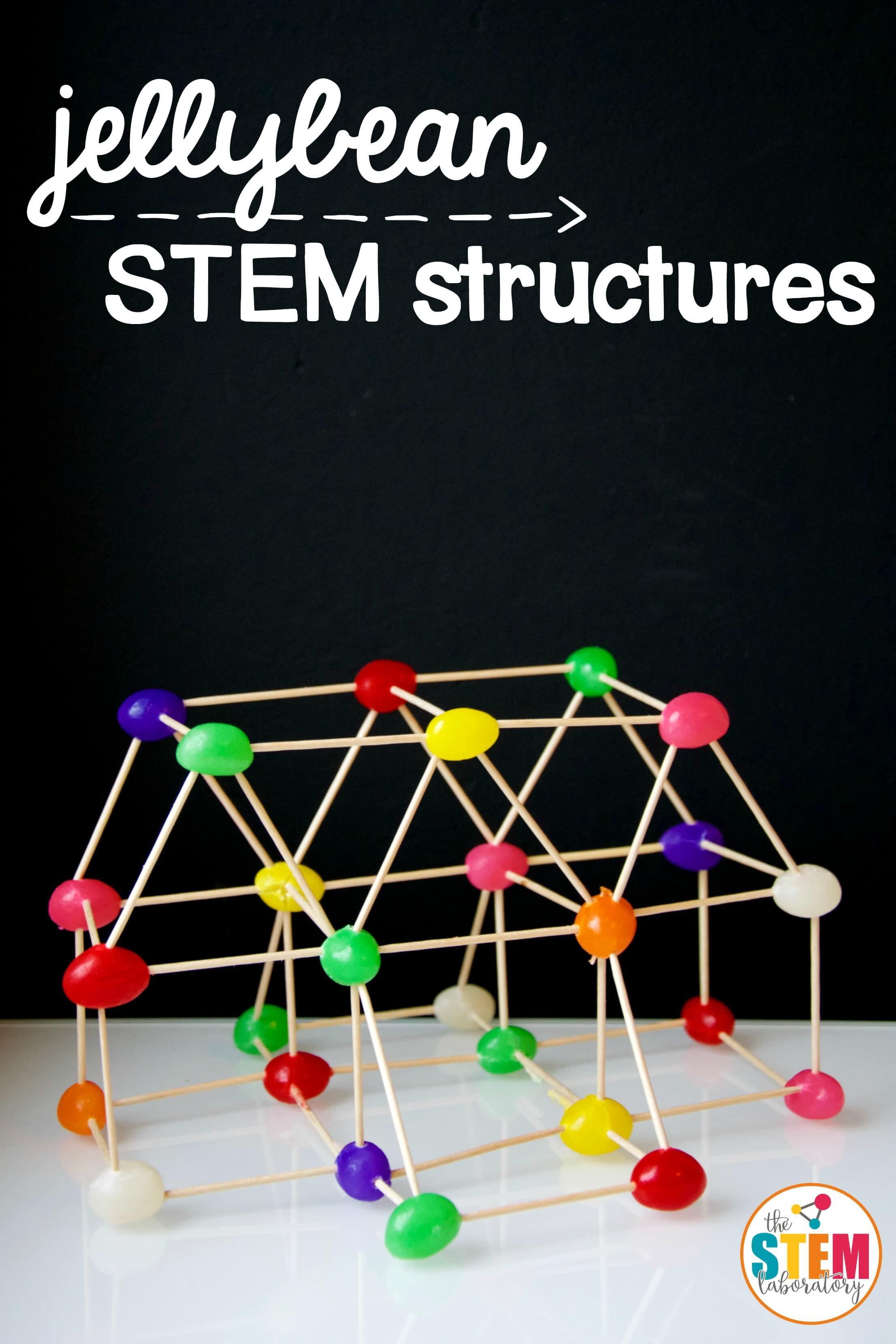 STEM Jellybean Structures The Stem Laboratory