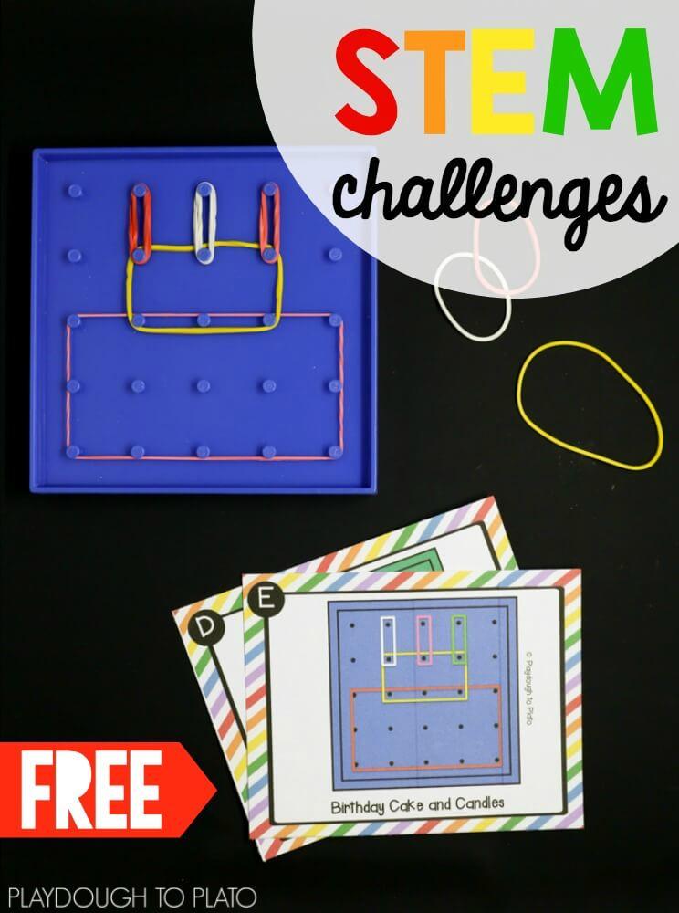 Free Geoboard Challenges The Stem Laboratory