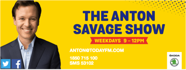 The Anton Savage Show Today FM