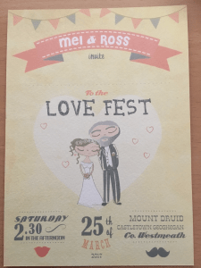 Our Wedding Invites
