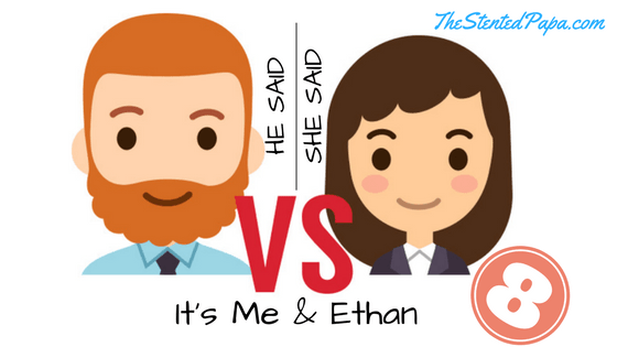 He Said / She Said Bloggers Ed It's Me & Ethan logo #8