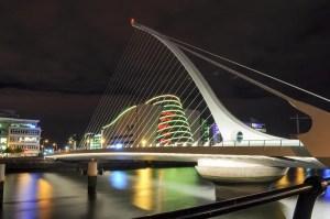 Dublin Convention Centre & Samuel Beckett Bridge