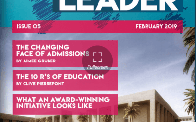 Coverage in International School Leader magazine – fab admissions article!