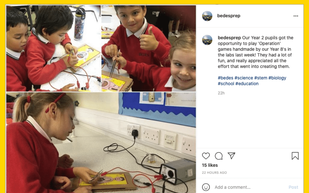 How Bede's Promotes Its Joined-Up Thinking Across the School