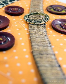 dots, buttons and interesting adornments make this fun to make