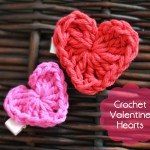 Valentine's Day Crochet Heart