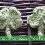 Shamrock Clip – Free Crochet Pattern
