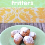 Banana Raisin Fritters