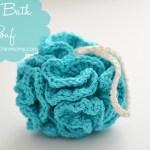 Puffy Bath Pouf – Free Pattern