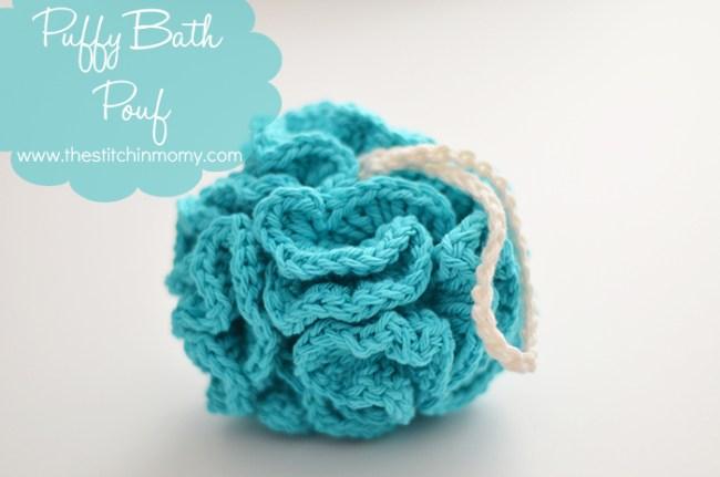 Puffy Bath Pouf - Free Pattern   www.thestitchinmommy.com