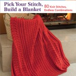 Pick Your Stitch, Build a Blanket – 80 Knit Stitches, Endless Combinations