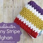 Stashbuster Granny Stripe Afghan – Free Pattern