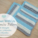 CWU Fall Poncho – Sizes 3 Months & 6 Months