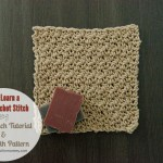 Seed Stitch Tutorial and Dishcloth Pattern