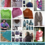That's a Wrap! – 15 Free Patterns for Lightweight Crochet Wraps