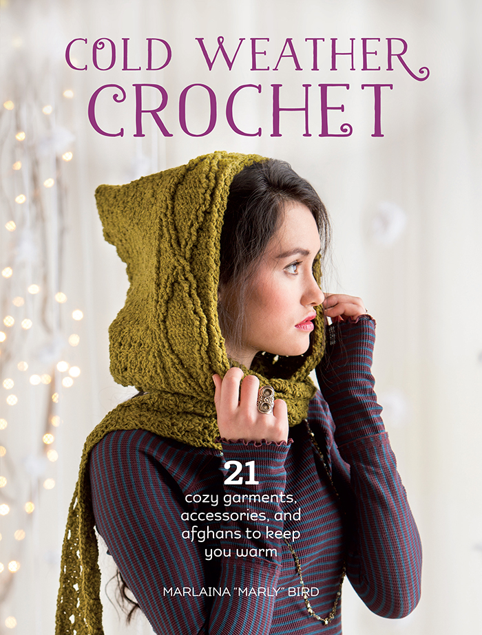 Cold Weather Crochet by Marly Bird - Book Review and Pattern Excerpt   www.thestitchinmommy.com