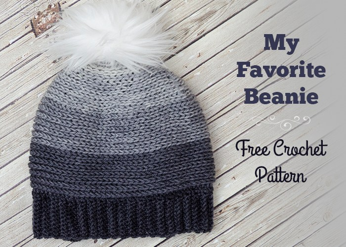 My Favorite Beanie – Free Crochet Pattern