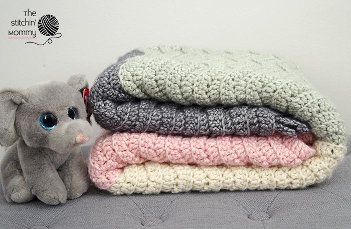 Vivi's Color Block Ripple Afghan - Free Crochet Pattern | www.thestitchinmommy.com