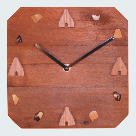 Artisan Bottle Kiln Clock