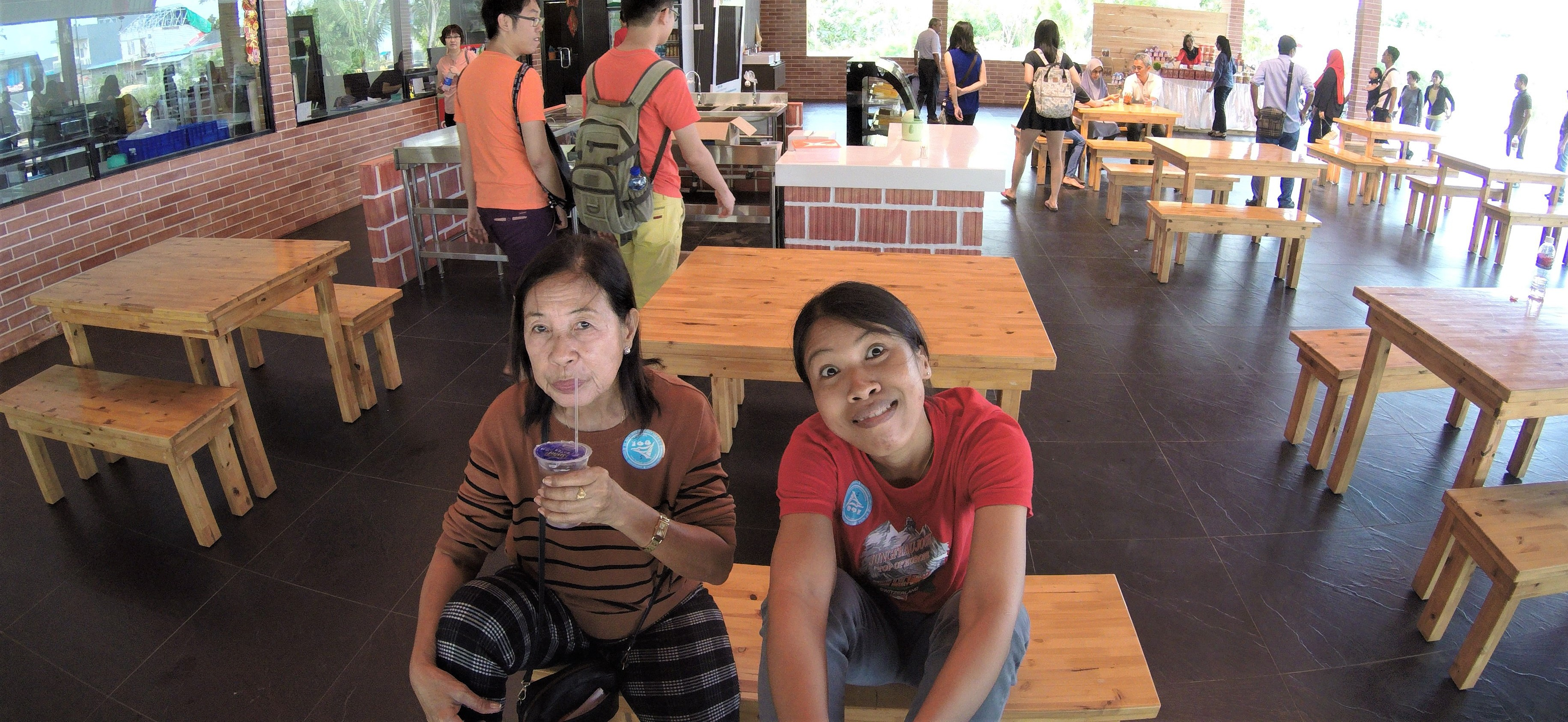 Quick trip to Batam Indonesia w/ my Precious Mother