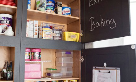 A peek inside The Stoner Mom's pantry