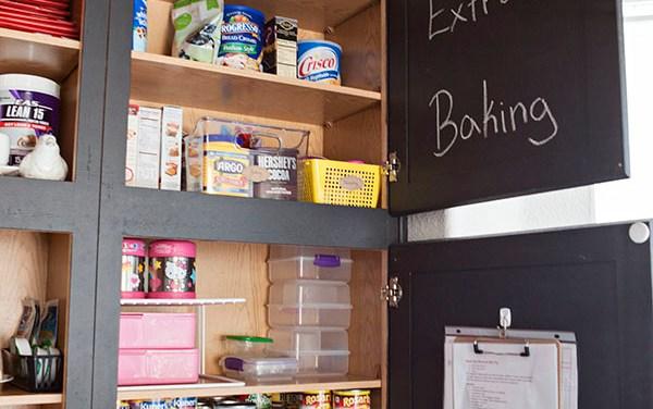 A peek inside The Stoner Mom's pantry
