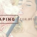 Vaping for Beginners: The Preferred Method for Parents