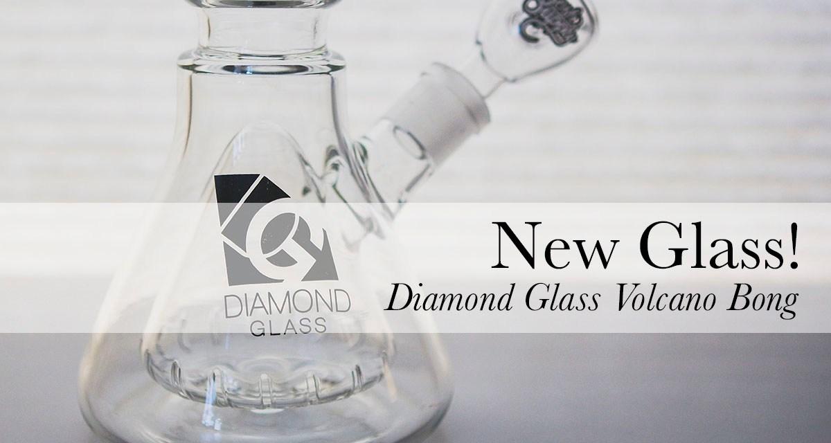 Picture Post!   Diamond Glass Volcano Bong