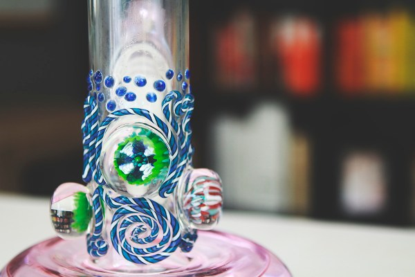 hvy glass bong